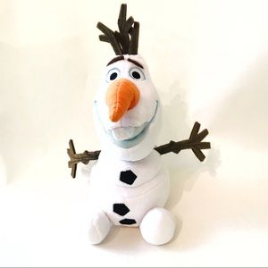 Disney Store Olaf Snowman Plush Frozen 8.5 inch
